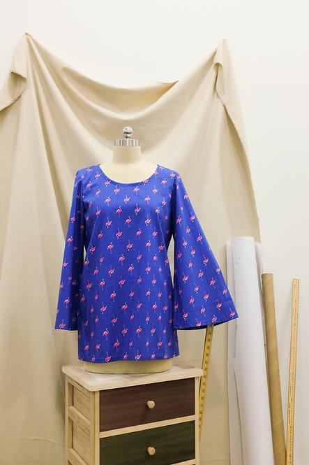 ESTB-A1 Flared Sleeve Blouse