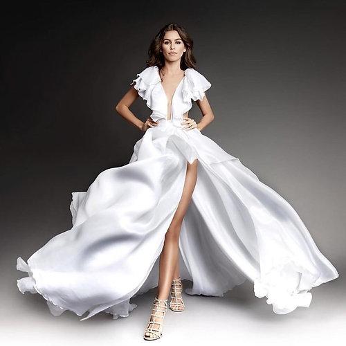 shesparklesbrand | Custom Flowing Dress for Brandon Scott