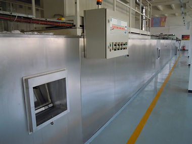 Electric tunnel oven