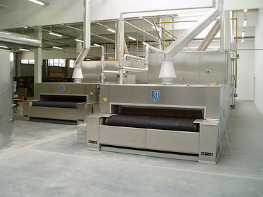 Cyclotherm tunnel oven