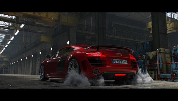 Audi R8   Chameleon