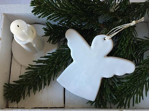 Ange Gm en céramique blanc