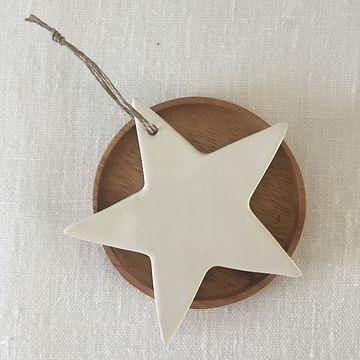 étoile céramique taille 3