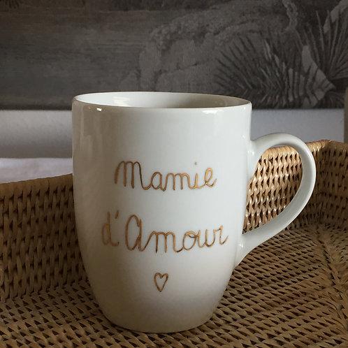 Mug porcelaine à personnaliser