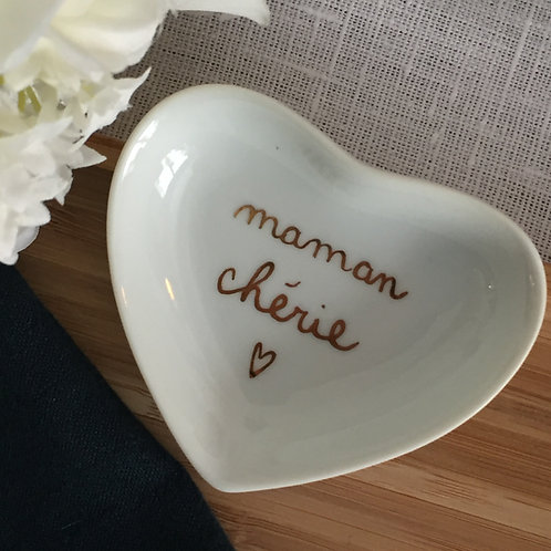 "Petit coeur""maman chérie"""