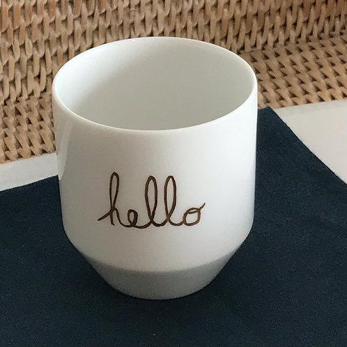 """Tasse à café""""message"""""""