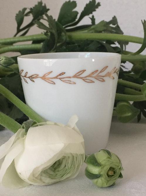 Gobelet en porcelaine pm