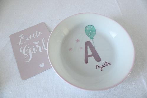 """Assiette bébé """"initiale"""""""