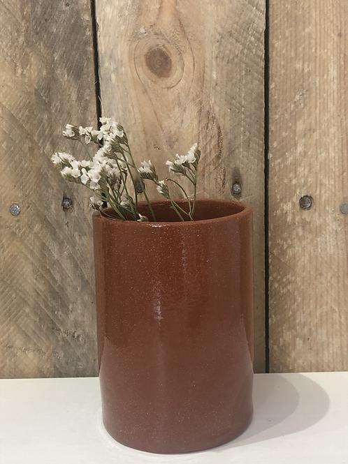 Vase céramique terraccotta pm