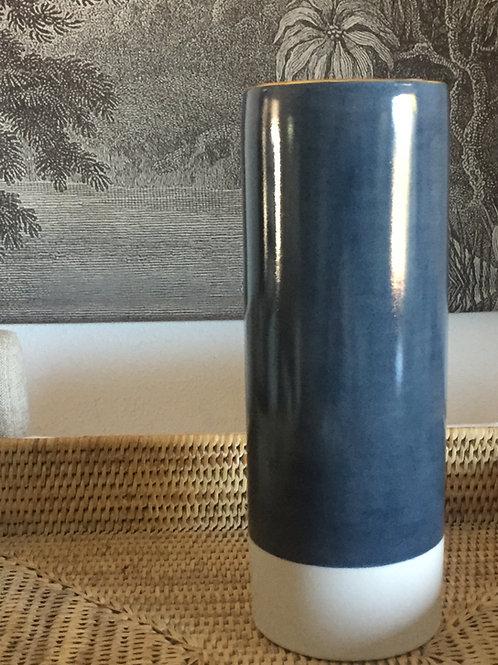 Vase bleu grand modèle