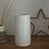 Thumbnail: Vase en céramique blanc