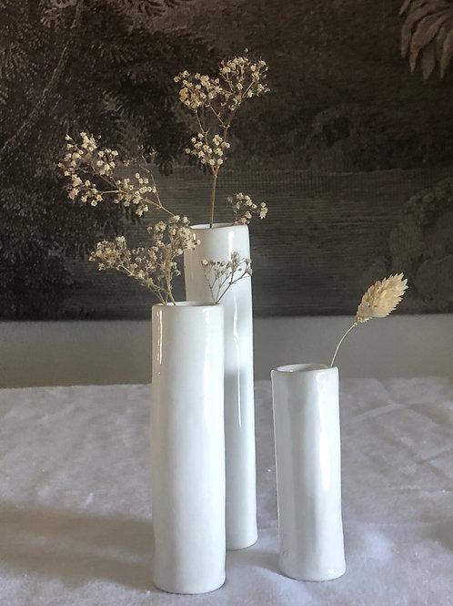 Petits vases soliflores céramique  modèle 6