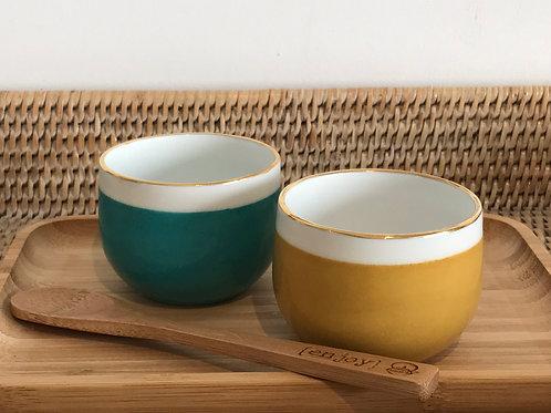 Duo tasses à café rondes