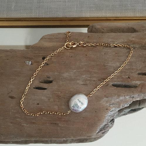 Bracelet perle nacre  d'eau douce