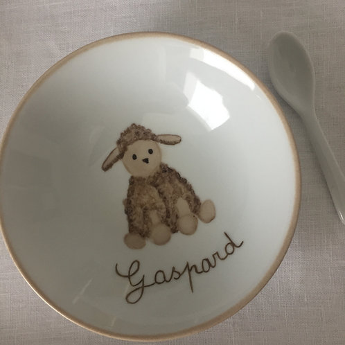 """Coupelle purée """"Mouton"""""""