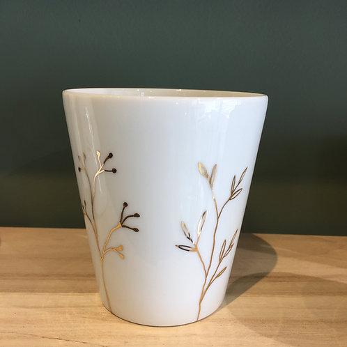 Gobelet en porcelaine moyen