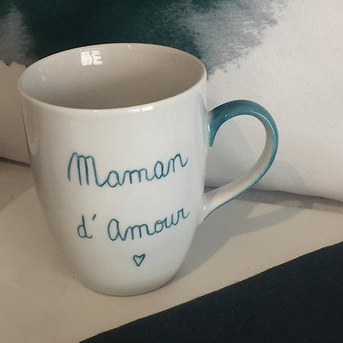 """Mug """"Maman d'Amour"""""""