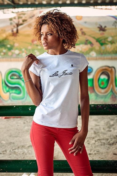 """Camiseta Señora Bordado """"La Jaca"""""""