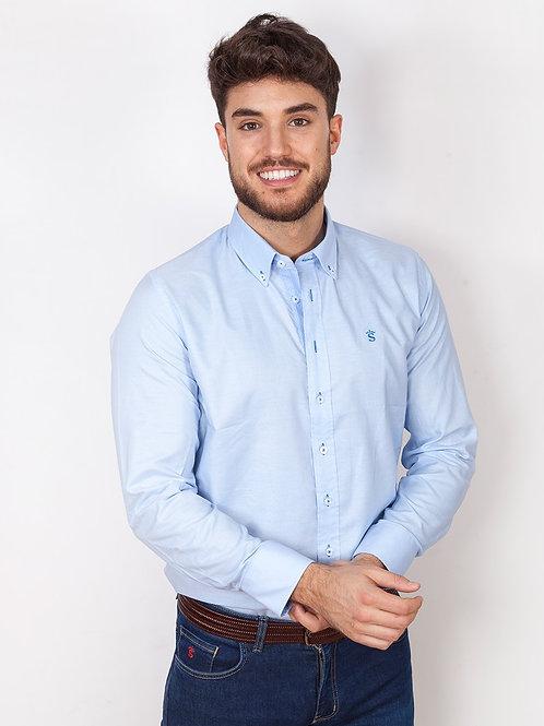 Camisa basic blue