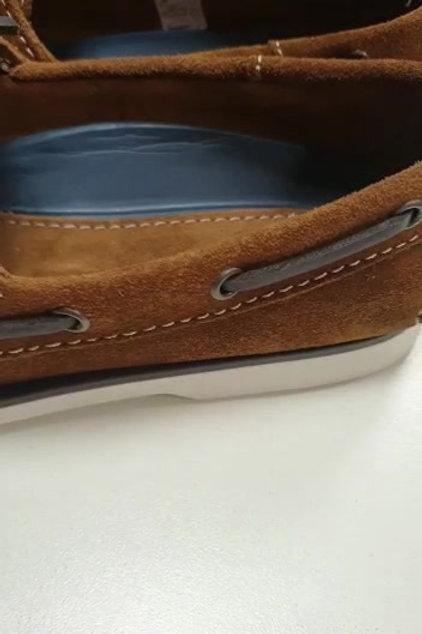 Zapato nautico serraje