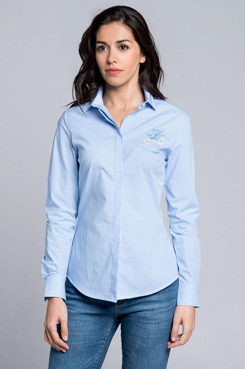 Camisa M Ladies Celeste