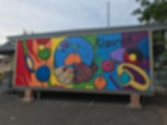 school street art mural workshop