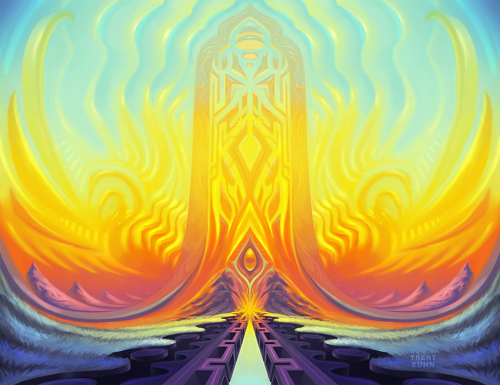 Crescendo - Art by Trent Kuhn