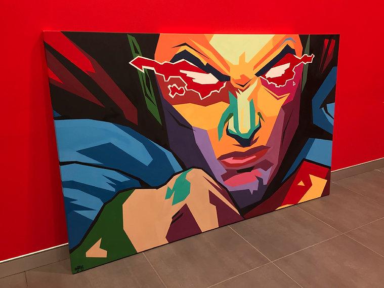 Superman graffiti art canvas.jpg