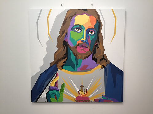 Jesus Christ - Original Canvas Art