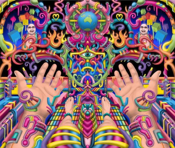 'Spirit Molecule' DMT Art by Ayjay.png