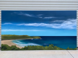 Killalea Beach Mural art ocean view