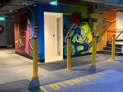 Corporate Street Art mural Urban Art