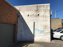 Port Kembla wall donated for art