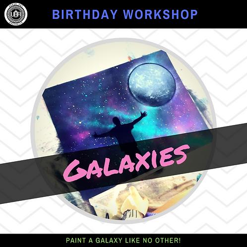 Galaxies | Birthday Workshop | (10 kids)