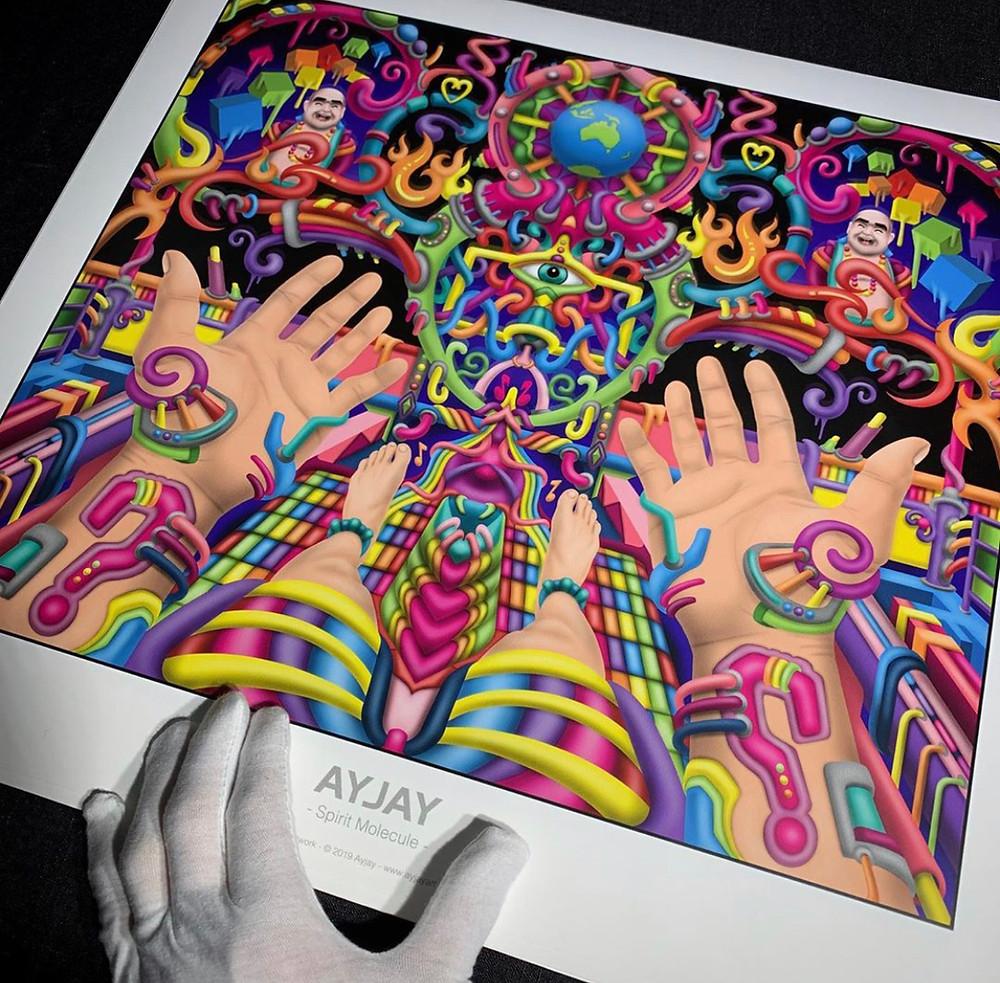 DMT Art by Ayjay