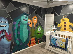monsters inc kids dream room