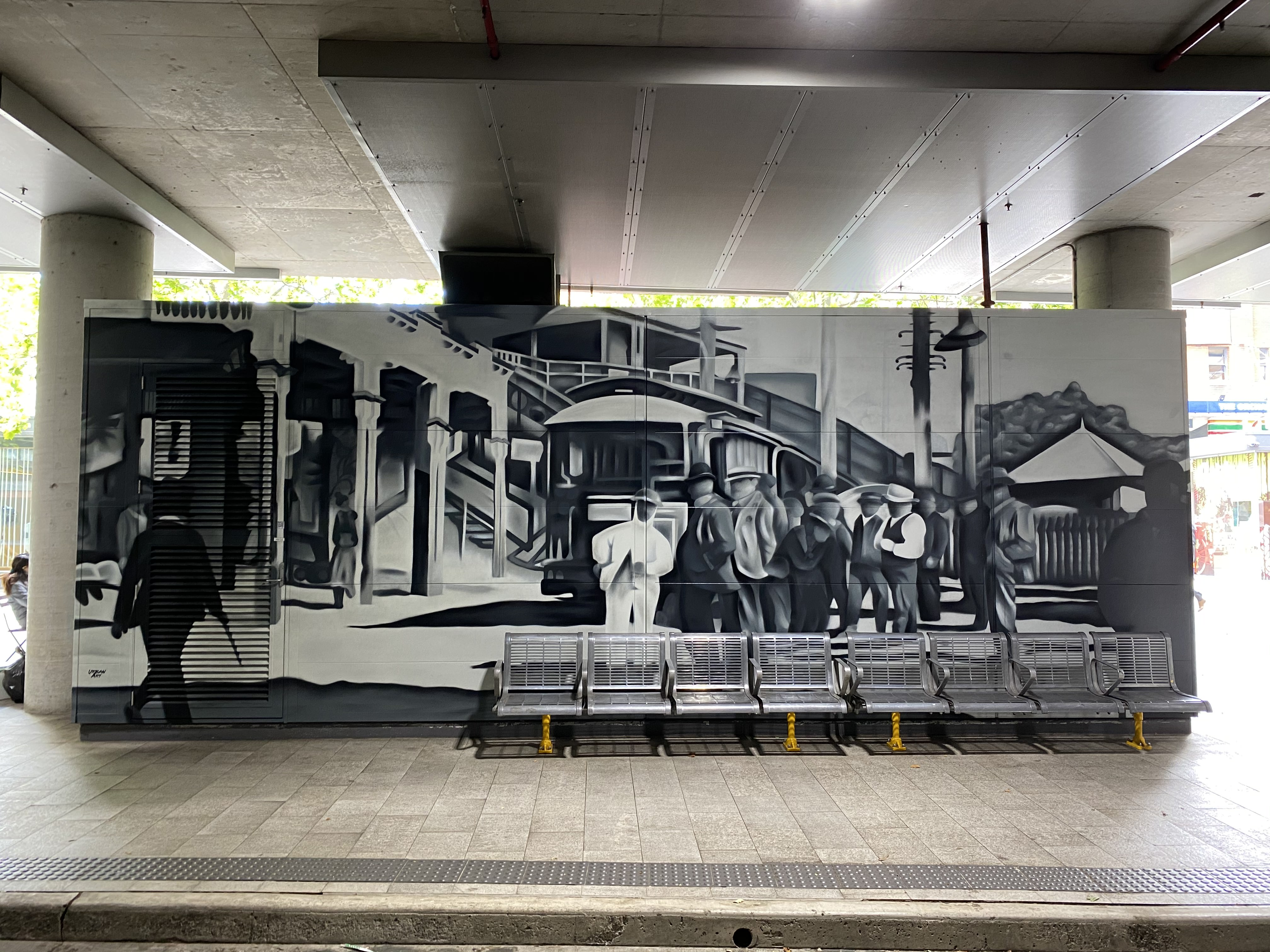 Historical Heritage street art mural