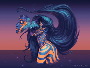 Soul Awakening - Art by Trent Kuhn