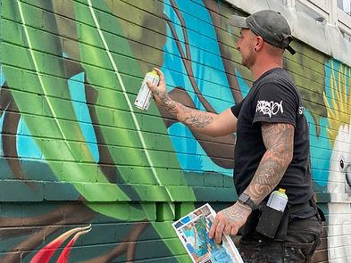 Hire a street artist in Sydney