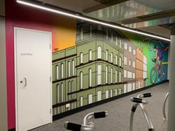 Urban Art Corporate Mural