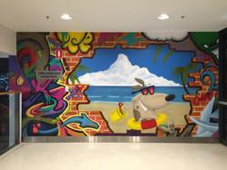 Westfield Miranda Mural Art
