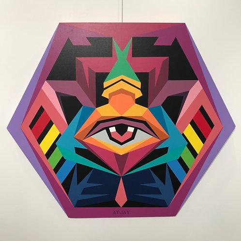 'Minds Eye' 2018 | Canvas Artwork