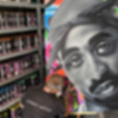 custom canvas art by urban art Australia