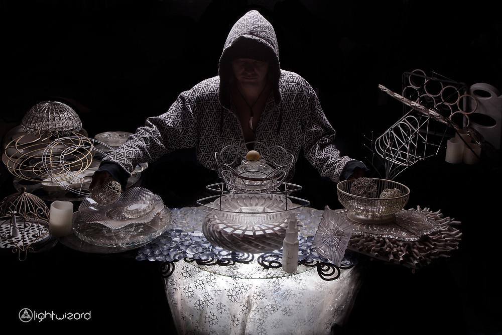 Light Wizard visionary artist