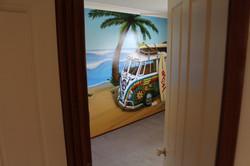 kids bedroom Kombi Mural Art