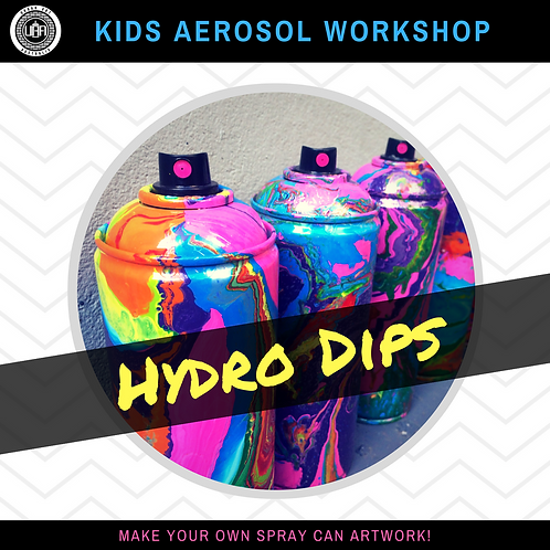 Private Workshop | Hydro Dips | (10 kids)