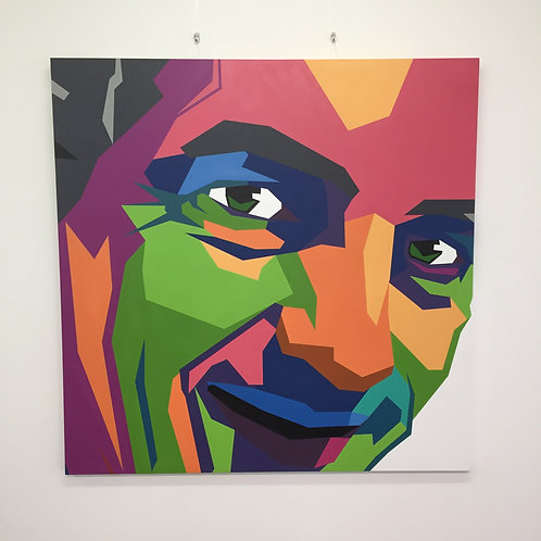 'Here in spirit'   Original Art