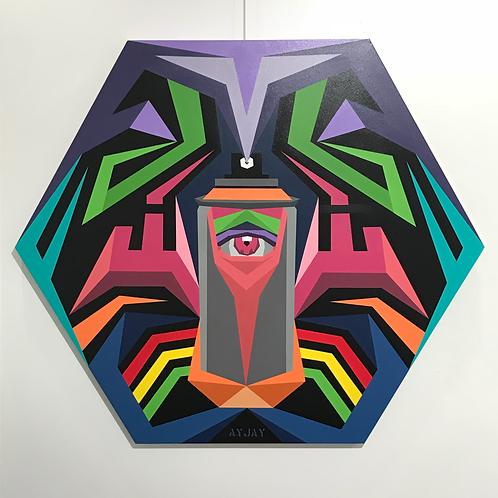 'Creative Intentions' 2018 | Canvas Artwork
