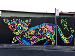 Fox graffiti pop art by Jyiro