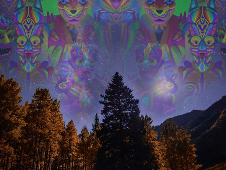 Why I started a blog about Psychedelics, Visionary Art & Spirituality.